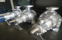 CI Water Cooled Hot Oil Pumps, Model: FPE-TF 40-200