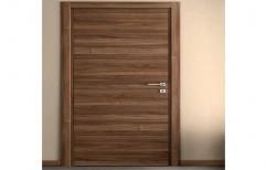 Coated PVC Flush Doors, Single Door, for Bathroom