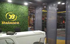 Concept PP Artificial Vertical Garden, For Decoration