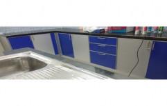 E-Tech Rectangular Aluminum Modular Kitchen Cabinets