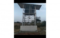 Galvanized Iron Solar Water Tank Structure, Thickness: 3 Mm