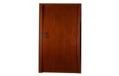 Hinged Powder Coated Brown PVC Fiber Door, Interior, Features: Waterproof