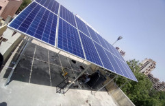 Inverter-PCU Grid Tie Commercial Solar Rooftop System, Capacity: 10 Kw