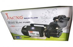Jacxo Mild Steel Self Priming Monoblock Pump, For Industrial, 1 Hp
