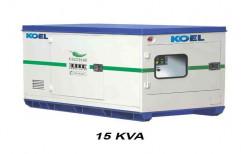 KEC-E15II 15 kVA Kirloskar Silent Diesel Generator