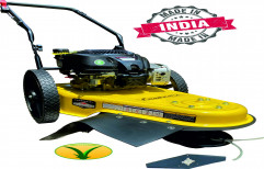 """lawncare 1 Ltr Wheeled String Trimmer & Brush Cutter Lawn Mower, 25mm, 22"""""""