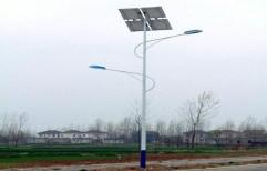 Mild Steel Poles For Solar LED Lights, Size: Standard