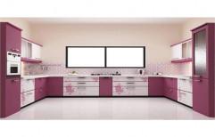 Modern U Shape Modular Kitchen