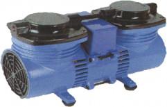 Oil Free Vacuum Pump R/212, 1/20 Hp, Max Flow Rate: 15 (lts/ Min)
