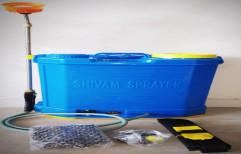 Plastic Agriculture Sprayer Shivam Pump, Size: 16l