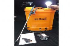 Plastic Battery Spray Pump, Electric, Capacity: 16 L