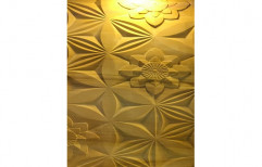 Polished Floral Marble Wall Cladding Tiles, Thickness: 15-20 mm