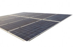 Polycrystalline Solar Power Panel, Operating Voltage: 24 V