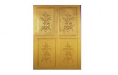 Powder Coated Hinged Decorative Aluminium Door for Home, Thickness: 20-25 mm
