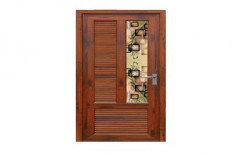 Seaoux Hinged Solid Wood Membrane Door, Usage/Application: Home