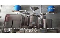 Semi Automatic Soya Milk Making Machine