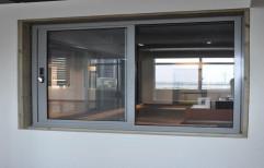 Shreeji Aluminium Modern Aluminum Glass Sliding Window
