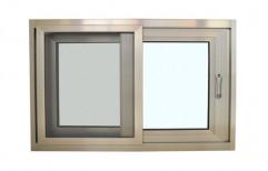 Shubham Glass & Aluminium Center Aluminum Sliding Glass Window