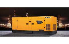 Silent or Soundproof Radiator JCB G80QI Diesel Generator for Power Generation
