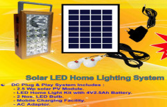 Small Solar Home Light System