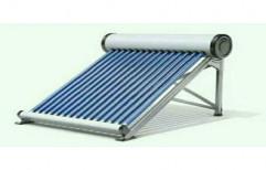 Stainless Steel 100 Lpd Solar Water Heater, Power: 4-6 (KW)