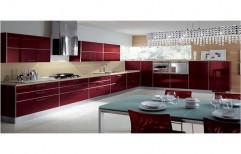 Straight Italian Modular Kitchen, Warranty: 1-5 Years