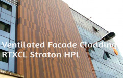 Straton Composites Linear planks Exterior Wall Cladding, Thickness: 21 Mm