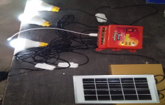 Sts Plastic Portable Lighting System Solar Electricity Charging, 400 Grms