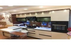 Stylish L Shape Modular Kitchen