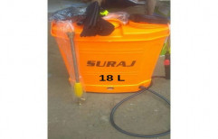 Suraj PVC 18L Agricultural Sprayer Pump, for Agriculture Spray