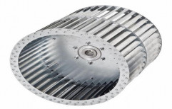 Teral Aerotech Stainless Steel Metallic Fan Impeller, For Air Cooling
