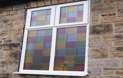 Transparent Aluminium Coloured Glass Window