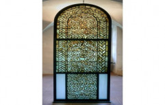 Transparent Designer Window Glass, Thickness: 10-12 Mm