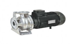 Two Stage 3 HP Close Coupled Stainless Steel Centrifugal Pumps, Electric, Air Cooled