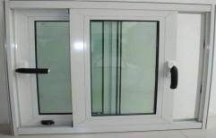 UPVC Glass Sliding Window, Glass Thickness: 8 Mm
