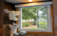 UPVC Single Open Casement Window, Size/Dimension: 4x3 Feet