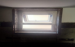 UPVC Top Hung Window, Glass Thickness: 8-12 Mm