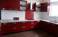 Wel Design Wooden Modular Kitchen Cabinets
