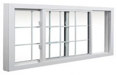 White UPVC Sliding Windows