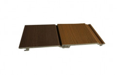 Wood Look WPC Wall Cladding, Thickness: 10 mm, Size: 1 feet x 10 feet