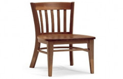 Wooden Chair, Finish: Polish