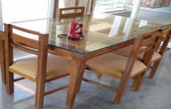 Wooden Modern Dining Table Set