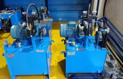 YUKEN Mild Steel Hydraulic Power Pack for Industrial