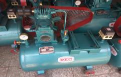 1 HP AC Single Phase Air Compressor, Discharge Pressure: 0-25CFM, Model Name/Number: 1hp