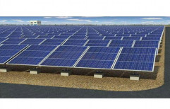 1 kW Commercial Grid Tie Solar Power Plant, Operating Voltage: 24 V