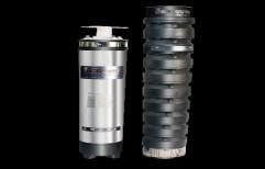 3HP Crown Grip Deluxe Q Type CI Bowl Submersible Pumpsets, Mild Steel