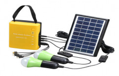 5 W Solar Home LED Lighting Systems, IP Rating: 20