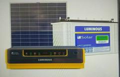 Ac Inverters Luminous Solar Home System, Capacity: 150ah