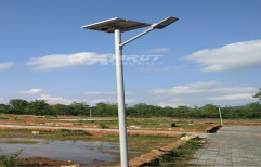 AMRUT Grey Integrated Solar Street Light, Model Name/Number: Atio, Input Voltage: 12