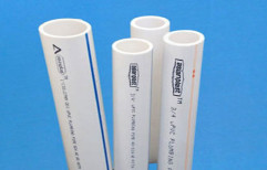 Asian Plast White Schedule 80 UPVC Water Pipe, Thickness: 5-10 mm, Length of Pipe: 3-6 mtr